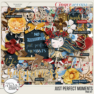 Just Perfect Moments - Page Kit - by Neia Scraps