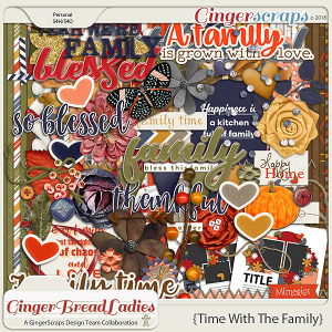 GingerBread Ladies Collab: Time With Family
