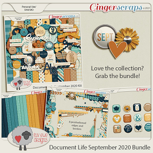 Document Life September 2020 Bundle by Luv Ewe Designs