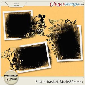 Easter basket Masks & Frames