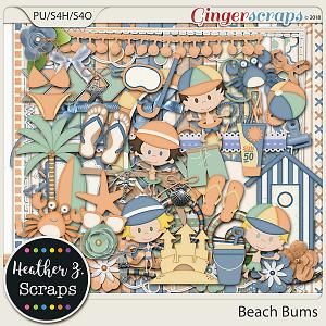 Beach Bums KIT by Heather Z Scraps