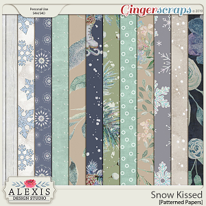 Snow Kissed - Patterned Papers