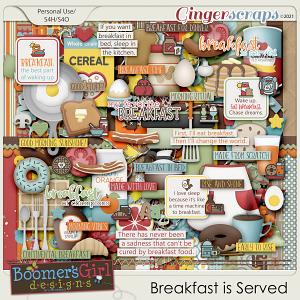 Breakfast is Served by BoomersGirl Designs