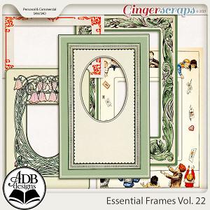 Essential Frames Vol 22 by ADB Designs