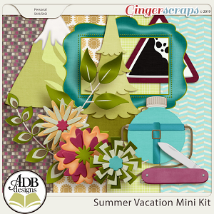 Summer Vacation Mini Kit by ADB Designs
