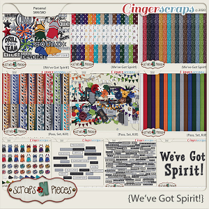 We've Got Spirit Bundled Kit by Scraps N Pieces