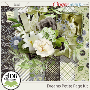 Dreams Petite Page Kit by ADB Designs