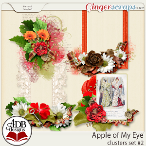 Apple of My Eye Clusters Set #02 by ADB Designs