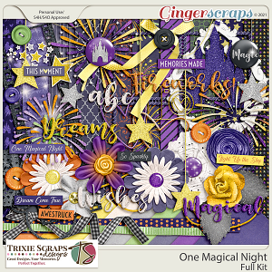 One Magical Night Full Kit by Trixie Scraps Designs