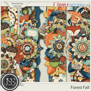 Forest Fall Page Borders