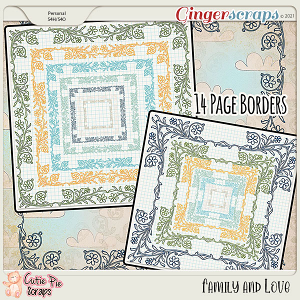Family & Love Page Borders