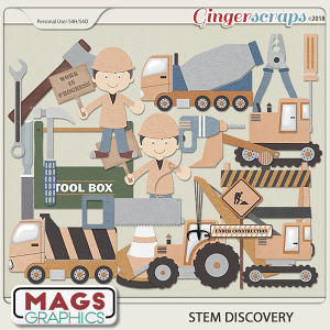 STEM Discovery CONSTRUCTION PACK by MagsGraphics