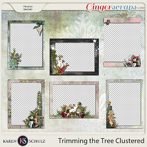Trimming the Tree Clustered Frames by Karen Schulz