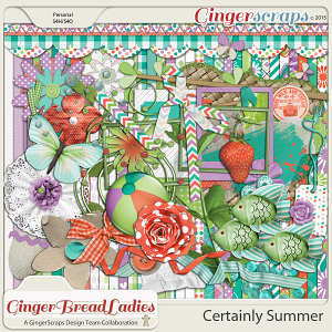 GingerBread Ladies Collab: Certainly Summer