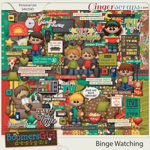 Binge Watching by BoomersGirl Designs