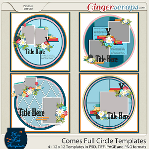 Comes Full Circle Templates by Miss Fish