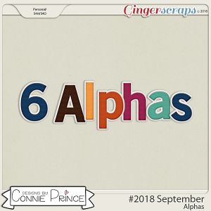 #2018 September - Alpha Pack AddOn by Connie Prince