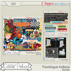 Travelogue Indiana - Bundle Pack by Connie Prince