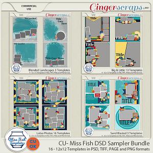 CU - 2021 DSD Grab Bag #2 by Miss Fish - DSD Sampler