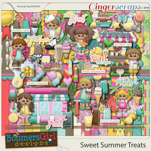 Sweet Summer Treats by BoomersGirl Designs