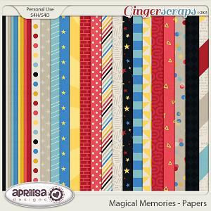 Magical Memories - Papers by Aprilisa Designs