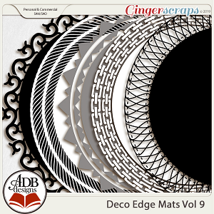 Deco Mats Vol 09 by ADB Designs