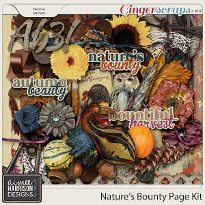 Nature's Bounty Page Kit