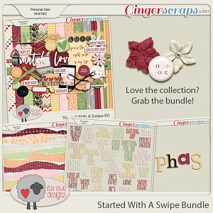 Started With A Swipe Bundle by Luv Ewe Designs