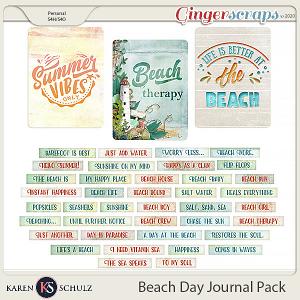 Beach Day Journal Pack by Karen Schulz