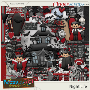 Night Life by BoomersGirl Designs
