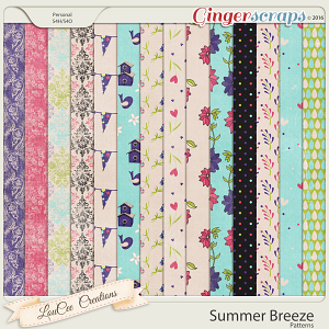 Summer Breeze Patterned Papers