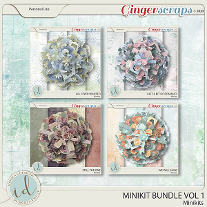Minikit Bundle Vol 1 by Ilonka's Designs