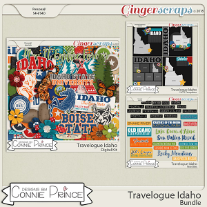 Travelogue Idaho - Bundle Pack by Connie Prince