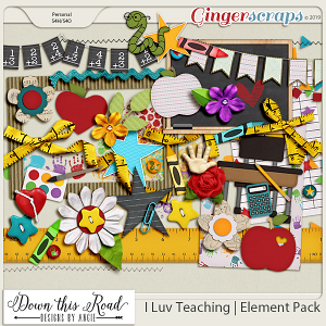 I Luv Teaching | Element Pack