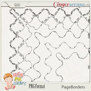 Page Borders 55 By Cutie Pie Scraps
