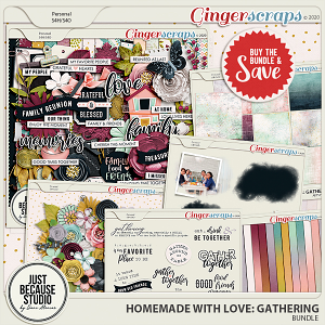 Homemade With Love: Gathering Bundle by JB Studio