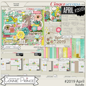 #2019 April - Bundle Collection by Connie Prince