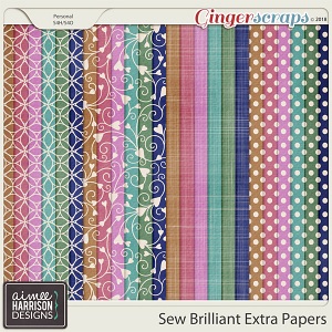 Sew Brilliant Extra Papers by Aimee Harrison