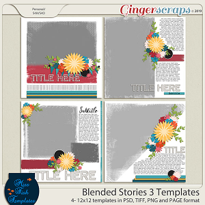 Blended Stories 3 Templates by Miss Fish