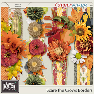Scare the Crows Borders by Aimee Harrison