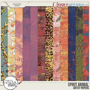 Spirit Animal - Atsy Papers - by Neia Scraps