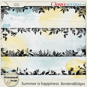 Summer is happiness Borders&Edges