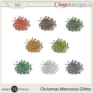 Christmas Memories Glitter by Karen Schulz