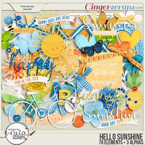 Hello Sunshine - Elements - by Neia Scraps