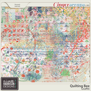 Quilting Bee Graffiti by Aimee Harrison