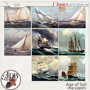 Age of Sail Ship Papers by ADB Designs