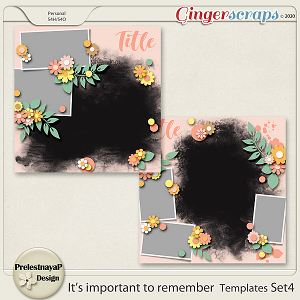 It's important to remember Templates Set4