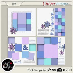 Craft ❤ Templates Capture It Vol. 2