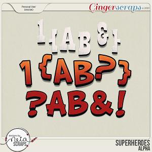 Superheroes - Alpha by Neia Scraps