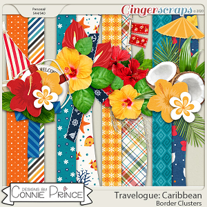Travelogue Caribbean - Borders by Connie Prince
